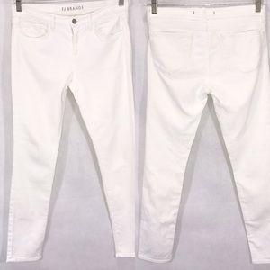 J BRAND Skinny Leg White Jeans Size 29